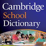 Cambridge School Dictionary TR Icon