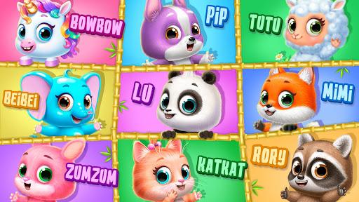 Panda Lu Treehouse - Build & Play with Tiny Pets apklade screenshots 2