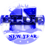 NEXT LAUNCHER 3D BlueNY THEME Icon