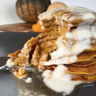 Pumpkin Spice Latte Protein Pancakes