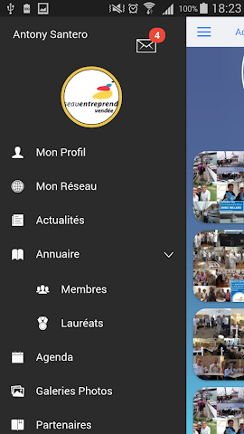 android REPDL Annuaire Screenshot 1