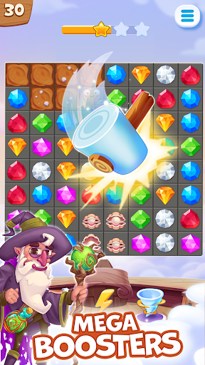 Pirate Treasures - Gems Puzzle  captures d'écran 2