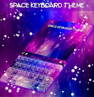 Space Keyboard Theme - náhled