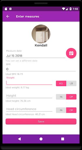 Child Growth Tracking screenshots 3