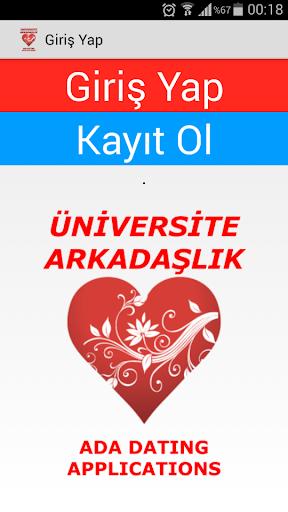 Ada Üniversite Arkadaşlık Chat