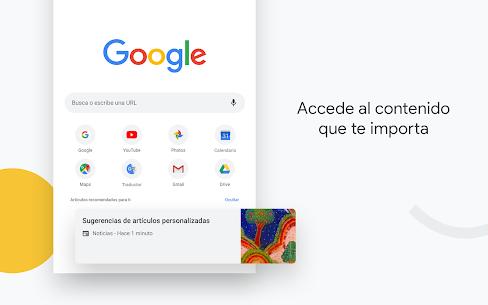 Google Chrome: rápido y seguro 1