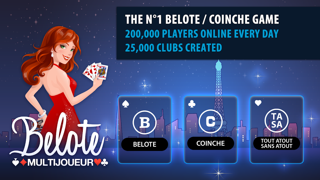 Belote Multiplayer Android App Screenshot