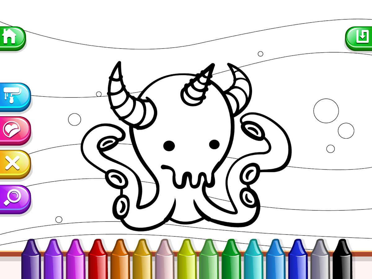 My Tapps Coloring Book - Painting Game For Kids- screenshot