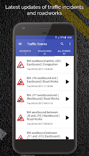 M4 Motorway Traffic News - náhled