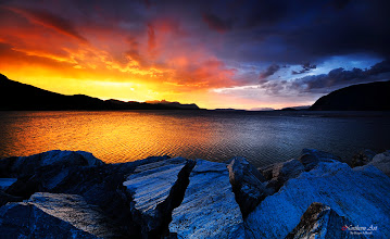 Photo: . The color of nature  This image is taken from Sørkjosen in North Norway.