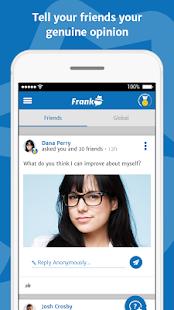 Frank - Honest Social Network - náhled