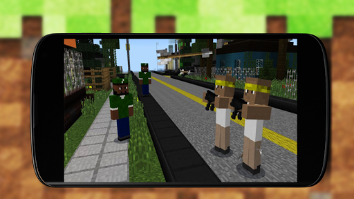 Street Wars Addon - MCPE Mods 1.1 screenshots 4