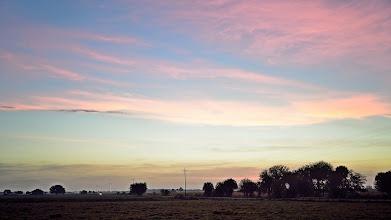 Photo: Christmas Eve sunrise, Okeechobee, Fl.
