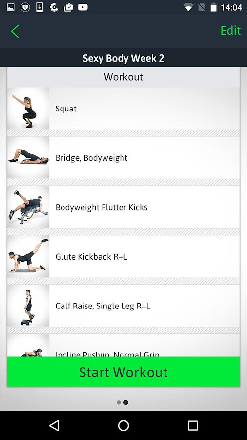 Home Workouts Personal Trainer- screenshot