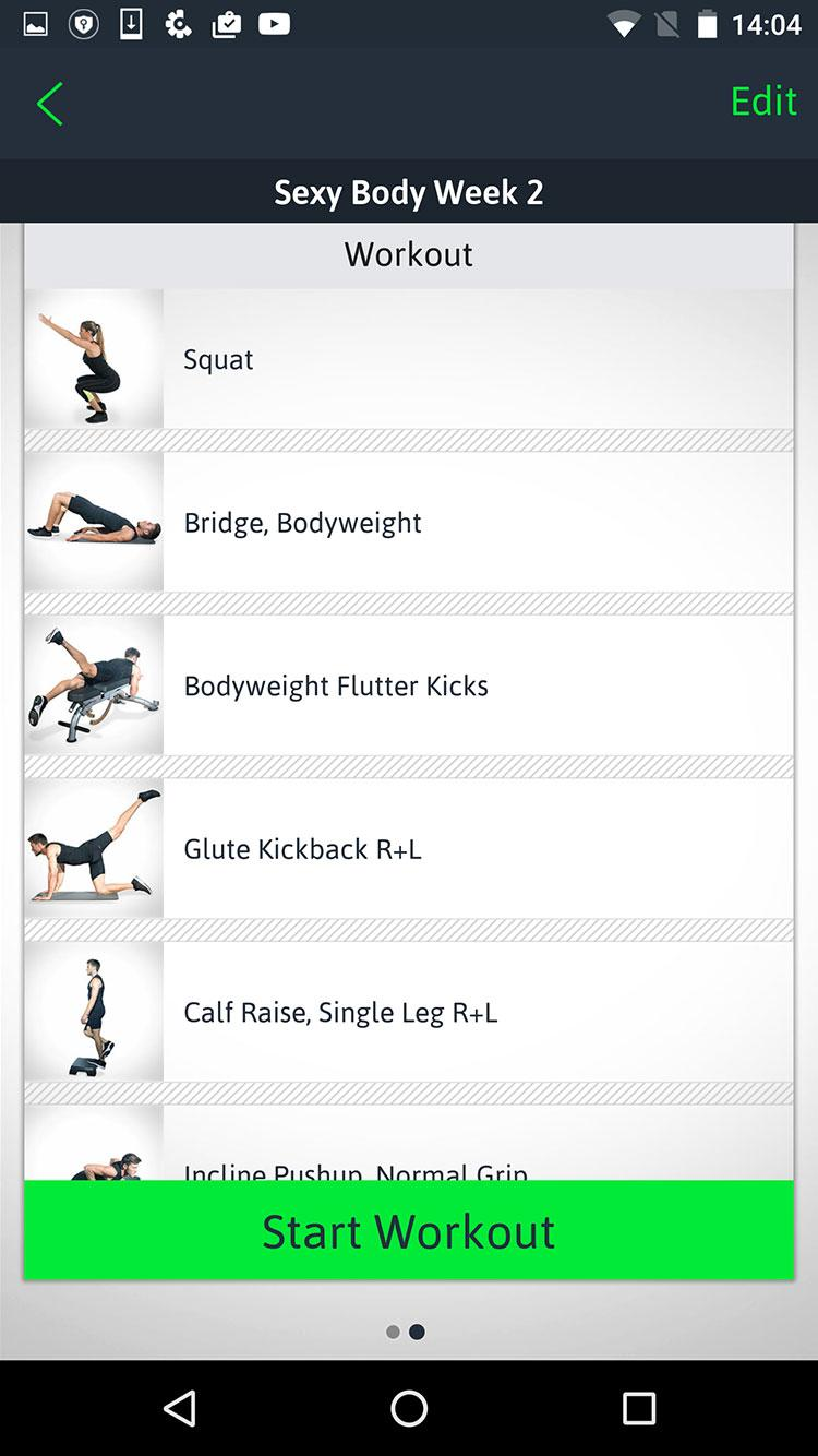Home Workouts Personal Trainer Screenshot 4