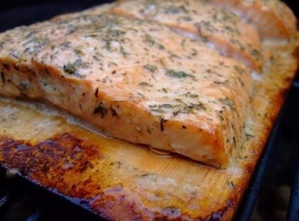 Cedar-planked Salmon Recipe