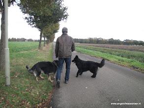 Photo: Nog een laatste wandeling voor vertrek