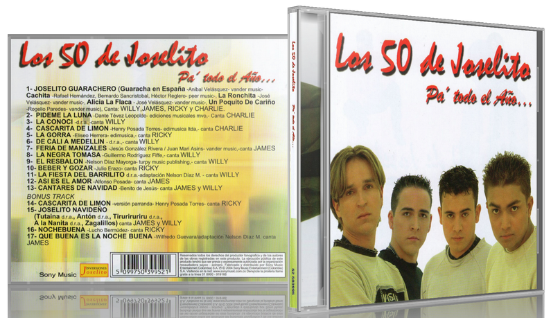 Los 50 De Joselito - Pa' Todo El Año... (2004) [MP3 @320 Kbps]