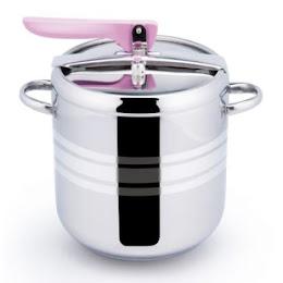 Oala sub presiune, 5 litri, Ertone, otel inoxidabil