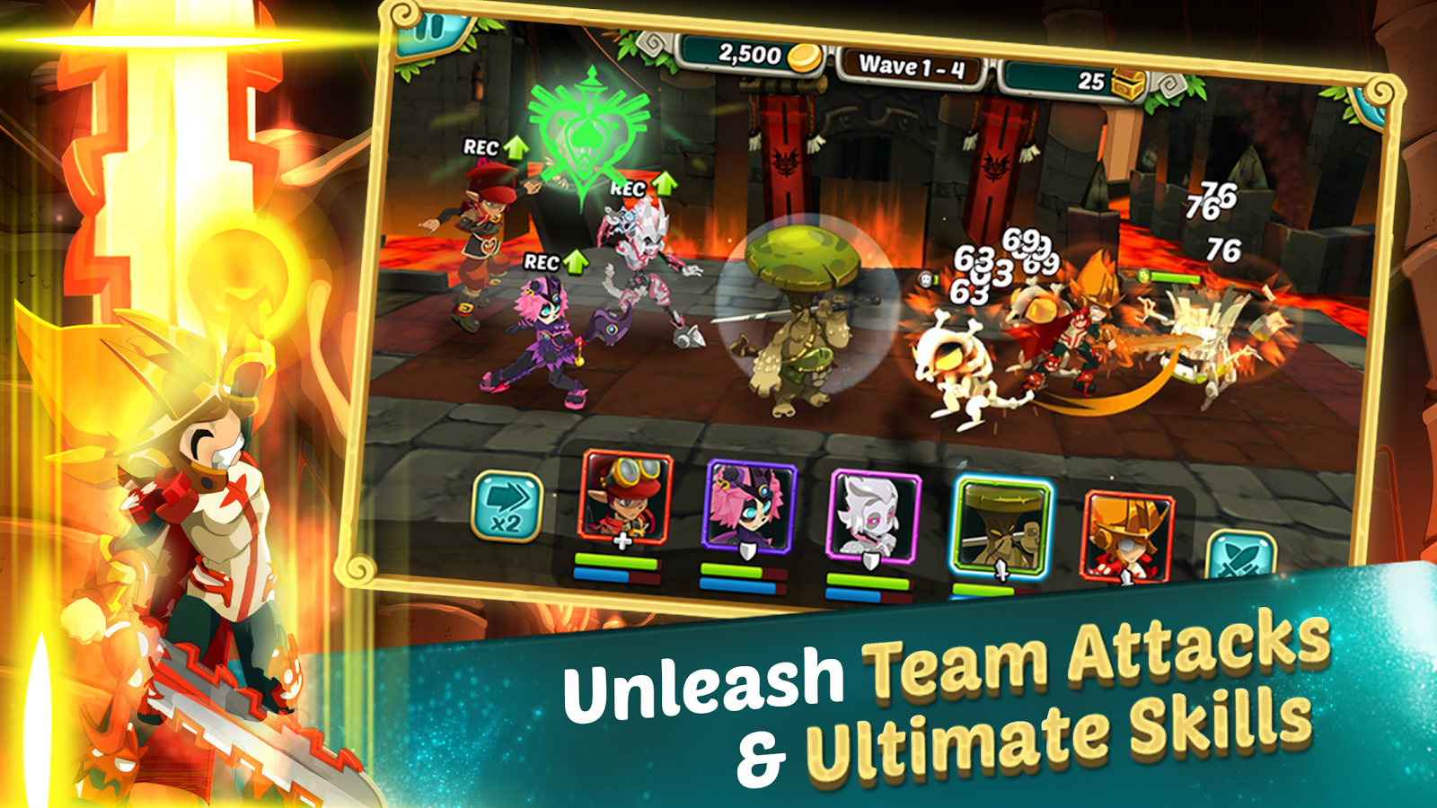 Wakfu Raiders - screenshot