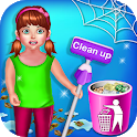 Baby Girl Cleaning Home - Keep Your House Clean icon