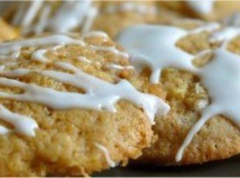 Soft Iced Pineapple Cookies Recipe