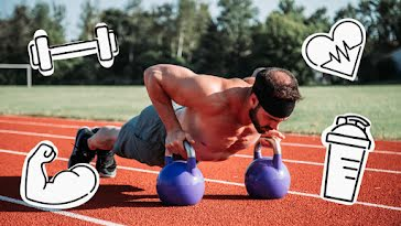 Outdoor Workout - YouTube Thumbnail template