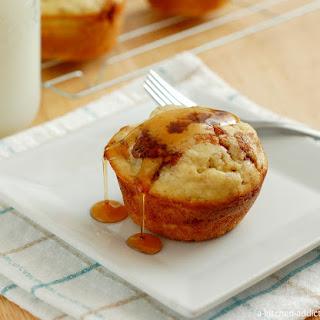 Cinnamon Sugar Pancake Muffins