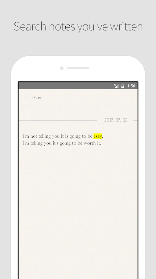 DAILY NOTE - Day Note, Diary- screenshot