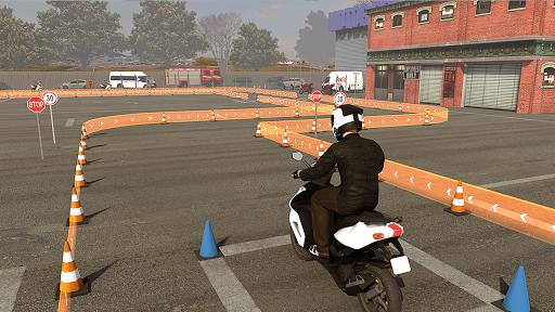 Real Bike 3D Parking Adventure: Bike Driving Games  screenshots 7