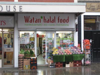 Watan Halal Food On Buckingham Street Convenience Stores