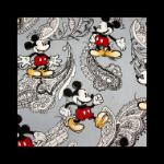 Photo: *Paisley Mickey Mouse* *hard to find fabric