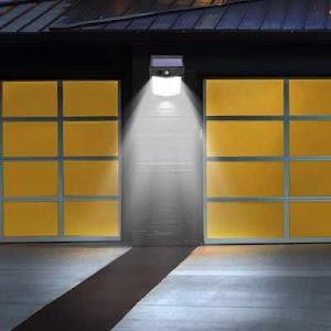 Set 2 x Lampa solara 80 LED cu senzor de miscare
