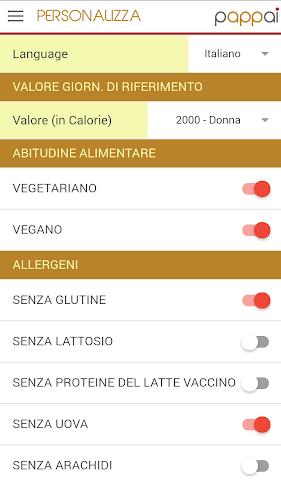 android Pappai: prodotti tipici sardi Screenshot 1