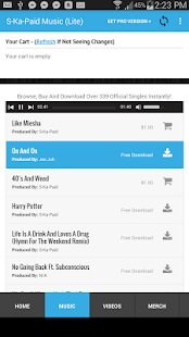 S-Ka-Paid Official Music App- screenshot thumbnail