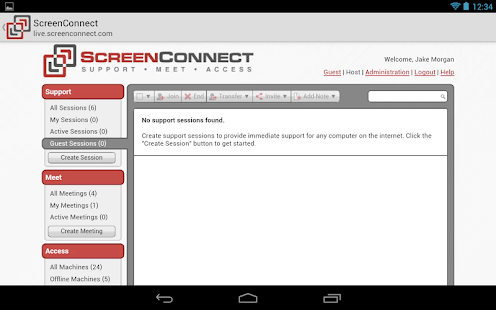 ScreenConnect for Samsung- screenshot thumbnail