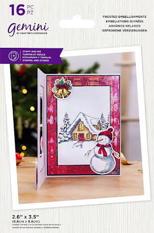 Gemini Stamp & Die - Frosted Embellishments