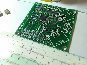 Photo: After soldering the microcontroller.