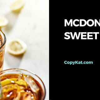 McDonalds Sweet Tea.