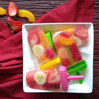 Champagne Popsicles - Adult Frozen Dessert that Beats the Heat.