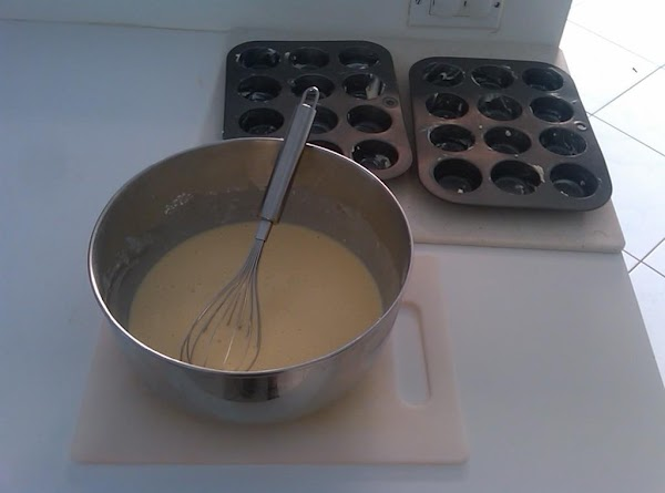 In a mixing bowl, stir together the sifted flour and the salt. Wisk in...