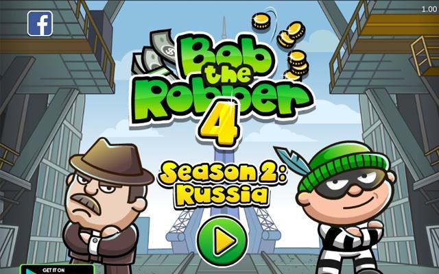Bob The Robber 4 Season 2 Russia Game