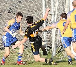 Photo: Sean Mc Keon goals v Glencar Manorhamilton, Co Semi Final  2009