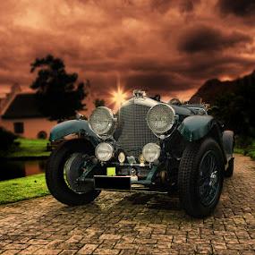 Hellish Bentley by Elmer van Zyl - Transportation Automobiles