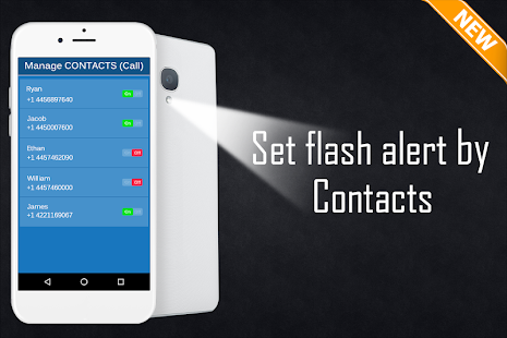 Alertas de luz de flash Screenshot