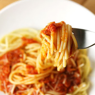 Textured Vegetable Protein Spaghetti Sauce Recipes