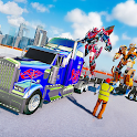US Police Robot Truck Transformation: Robot Battle icon