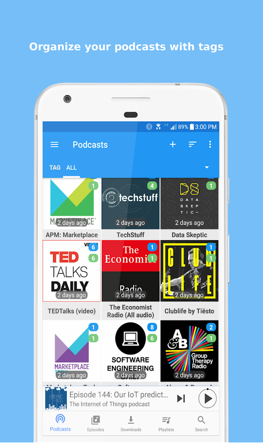 Podcast Republic - Podcast & Audiobook App: captura de pantalla