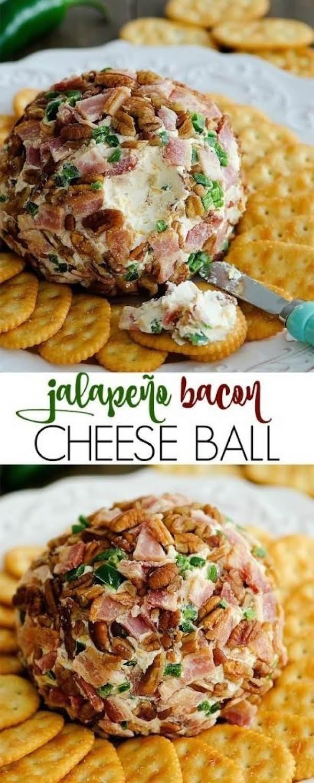 JalapeÑo Bacon Cheese Ball Recipe