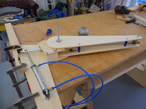 Photo: flipper finger prototype #1